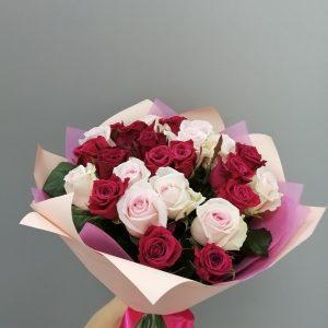 яркие розы Ульяновск