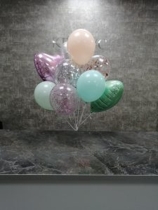 шары с блестками