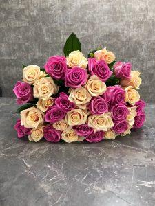 Букет местных роз