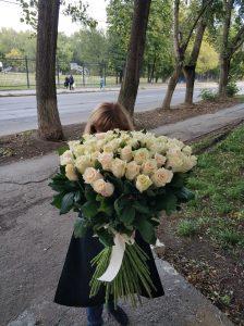 розы без упаковки