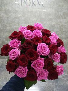 Микс из местных роз