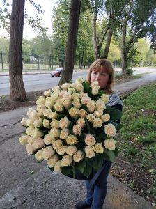 много роз