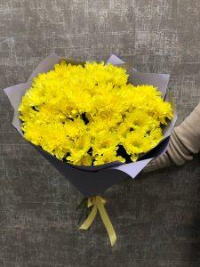 ярко желтый букет